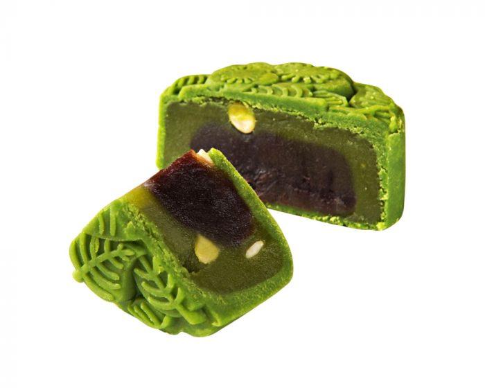 Tai Thong Momoyama Green Tea with Red Bean Mooncake