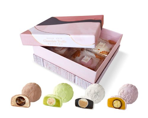 Tai Thong Snow Skin Chocolate Truffle Mooncake Series